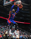 Nov 20, 2013, Detroit Pistons vs Atlanta Hawks - Andre Drummond Photographic Print by Scott Cunningham