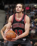 Feb 3, 2014, Chicago Bulls vs Sacramento Kings - Joakim Noah Fotografisk trykk av Rocky Widner