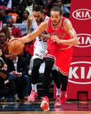 Feb 25, 2014, Chicago Bulls vs Atlanta Hawks - Joakim Noah Photographic Print by Scott Cunningham