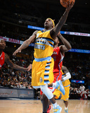Feb 3, 2014, Los Angeles Clippers vs Denver Nuggets - Ty Lawson Photographic Print by Garrett Ellwood