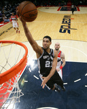 Feb 5, 2014, San Antonio Spurs vs Washington Wizards - Tim Duncan Photographie par Ned Dishman