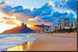 Rio Stretched Canvas Print