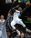 Jan 25, 2014, Indiana Pacers vs Denver Nuggets - Ty Lawson Photographic Print by Garrett Ellwood