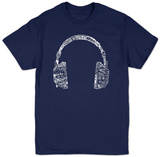 Headphones-Languages T-shirts