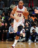 Mar 9, 2013, Brooklyn Nets vs Atlanta Hawks - Al Horford Photographic Print by Scott Cunningham