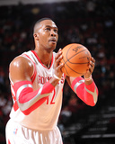 Mar 27, 2014, Philadelphia 76ers vs Houston Rockets - Dwight Howard Photographic Print by Bill Baptist