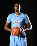Los Angeles Clippers Media Day: Sep 30, 2013 - DeAndre Jordan Photographic Print