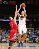 Feb 20, 2014, Houston Rockets vs Golden State Warriors - David Lee Photo by Rocky Widner