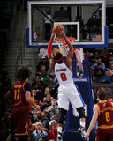 Mar 26, 2014, Cleveland Cavaliers vs Detroit Pistons - Andre Drummond Photographic Print by Allen Einstein