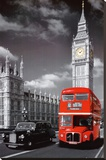 London Stretched Canvas Print