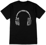 Headphones-Languages T-Shirt