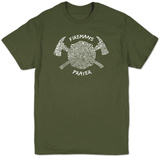 Fireman's Prayer T-shirts