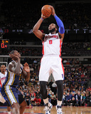 Jan 17, 2014, Utah Jazz vs Detroit Pistons - Andre Drummond Photographic Print by Allen Einstein