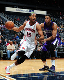 Dec 18, 2013, Sacramento Kings vs Atlanta Hawks - Al Horford Photographic Print by Scott Cunningham