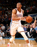 Mar 28, 2014, Sacremento Kings vs Oklahoma City Thunder - Russell Westbrook Photographic Print by Layne Murdoch