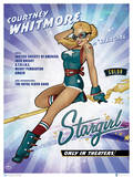 DC Bombshells Stargirl Posters by Ant Lucia