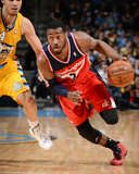 Mar 23, 2014, Washington Wizards vs Denver Nuggets - John Wall Photo by Garrett Ellwood
