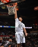 Mar 6, 2014, Miami Heat  vs San Antonio Spurs - Tim Duncan Photographic Print by Jesse D. Garrabrant