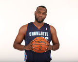 Jul 10, 2013 - Charlotte Bobcats, Al Jefferson Photographic Print by Kent Smith