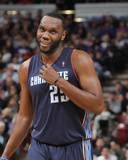 Jan 4, 2014, Charlotte Bobcats vs Sacramento Kings - Al Jefferson Photographic Print by Rocky Widner
