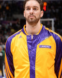 Feb 21, 2014, Boston Celtics vs Los Angeles Lakers - Pau Gasol Photo by Andrew Bernstein