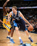 Mar 5, 2014, Dallas Mavericks vs Denver Nuggets - Dirk Nowitzki Photographic Print by Garrett Ellwood