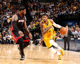 Mar 26, 2014, Miami Heat vs Indiana Pacers - Paul George Foto af Nathaniel S. Butler