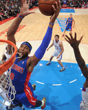 Mar 22, 2014, Detroit Pistons vs Los Angeles Clippers - Andre Drummond Photographic Print by Andrew Bernstein