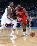 Mar 11, 2014, Houston Rockets vs Oklahoma City Thunder - James Harden Photographic Print by Layne Murdoch