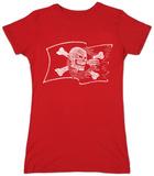 Juniors: Pirate Flag T-shirts