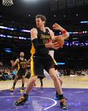 Mar 21, 2014, Washington Wizards vs Los Angeles Lakers - Pau Gasol Photographic Print by Noah Graham