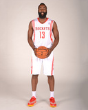 Houston Rockets Media Day 2013 - James Harden Photographic Print by Bill Baptist