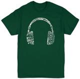 Headphones-Languages T-shirts
