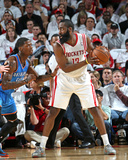 Apr 27, 2013, Oklahoma City Thunder vs Houston Rockets (Game Three) - James Harden Photographic Print by Layne Murdoch
