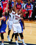 Nov 15, 2013, Philadelphia 76ers vs Atlanta Hawks - Al Horford Photographic Print by Scott Cunningham