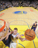 Mar 9, 2014, Phoenix Suns vs Golden State Warriors - David Lee Photographic Print by Rocky Widner