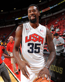 2013 USA Basketball Showcase - DeAndre Jordan Photographic Print by Andrew Bernstein