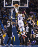Mar 28, 2014, Sacramento Kings vs Oklahoma City Thunder - Russell Westbrook Photographic Print by Richard Rowe