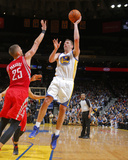 Feb 20, 2014, Houston Rockets vs Golden State Warriors - David Lee Photographic Print by Rocky Widner