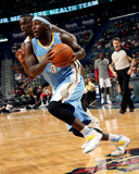 Mar 9, 2014, Denver Nuggets vs New Orleans Pelicans - Ty Lawson Photographic Print by Layne Murdoch
