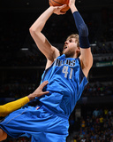 Apr 4, 2013, Dallas Mavericks vs Denver Nuggets - Dirk Nowitzki Photographic Print by Garrett Ellwood