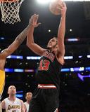 Feb 9, 2014, Chicago Bulls vs Los Angeles Lakers - Joakim Noah Photographic Print by Noah Graham