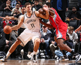 Dec 12, 2013, Los Angeles Clippers vs Brooklyn Nets - Brook Lopez Photographic Print by Nathaniel S. Butler
