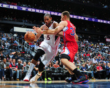Dec 4, 2013, Los Angeles Clippers vs Atlanta Hawks - Al Horford Photographic Print by Scott Cunningham