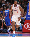 Mar 22, 2014, Detroit Pistons vs Los Angeles Clippers - DeAndre Jordan Photographic Print by Andrew Bernstein