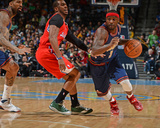 Mar 17, 2014, Los Angeles Clippers vs Denver Nuggets - Ty Lawson, Chris Paul Photographic Print by Garrett Ellwood