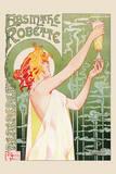 Privat Livemont - Absinthe Robette,1895 - Reprodüksiyon