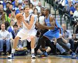 Mar 25, 2014, Oklahoma City Thunder vs Dallas Mavericks - Dirk Nowitzki Photo by Layne Murdoch