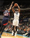 Mar 17, 2014, Atlanta Hawks vs Charlotte Bobcats - Al Jefferson Photographic Print by Kent Smith