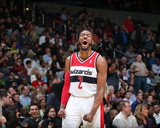 Mar 29, 2014, Atlanta Hawks vs Washington Wizards - John Wall Photographic Print by Stephen Gosling